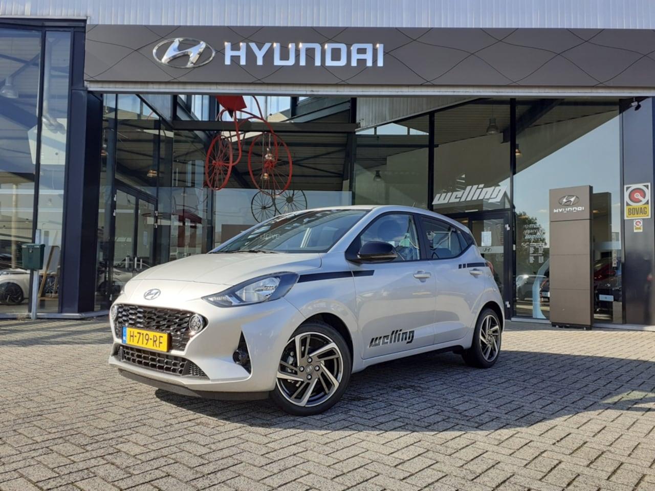 Hyundai i10 - 1.0i Comfort/16 inch Lichtmetalen velgen/Striping/Skirts - AutoWereld.nl