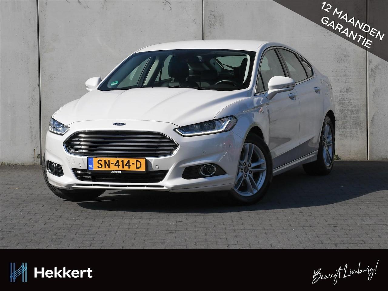 Ford Mondeo - Titanium 1.5 EcoBoost 160pk NAVI   WINTER PACK   CRUISE   LANE KEEPING AID   LEER   AUT. I - AutoWereld.nl